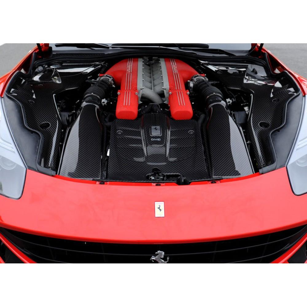 Ferrari F12 Berlinetta Dmc Spia Carbon Fiber Engine Bay Refinement Kit