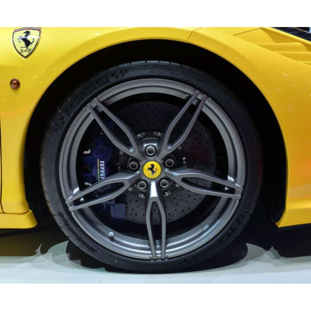 Ferrari 20 458 Speciale Aperta Alloy Wheel Set Matte Grey To Fit Ferrari 458 Italia Spider