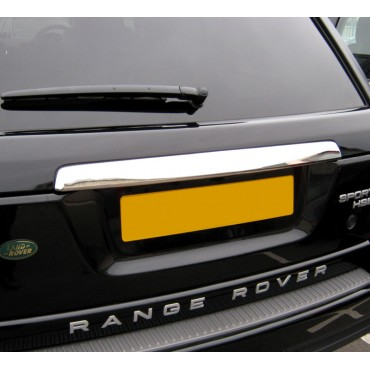 Black Tail Light Covers Lamp Guards Trim Accessories for Range Rover Sport 05-09