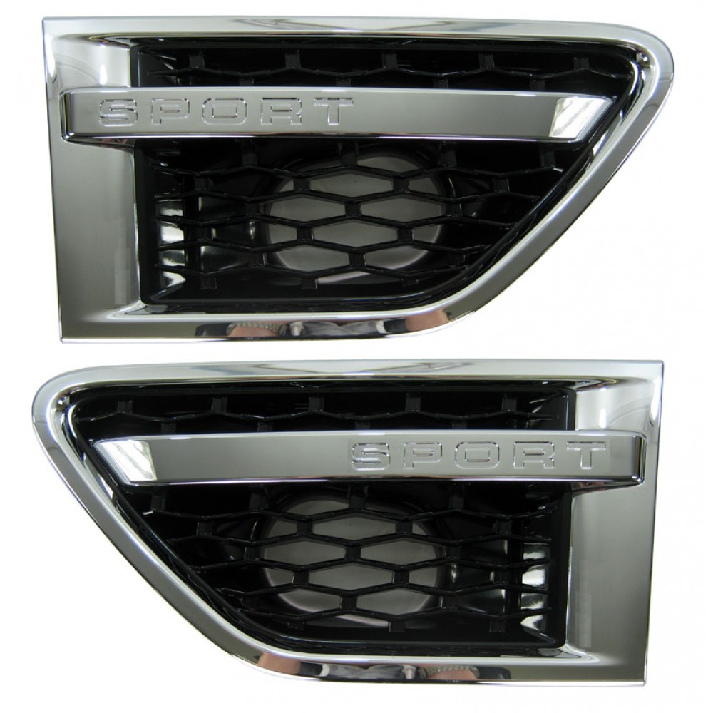 AUTOBIOGRAPHY STYLE SIDE VENTS GLOSS BLACK