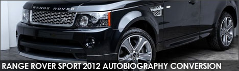 Range Rover Sport Autobiography Facelift Upgrade Conversions