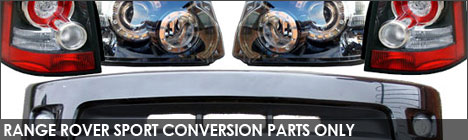 Range Rover Sport Converison Parts