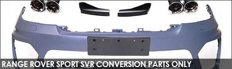 Range Rover Sport SVR Converison Parts