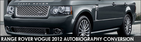 Range Rover Vogue/HSE Autobiography Facelift Upgrade Conversions