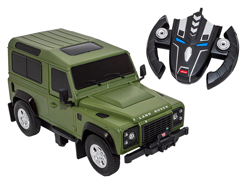 Now available: Transformable Land Rover Defender 1:14 Remote Control Scale Model