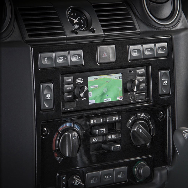 Now available: Land Rover Defender - Classic Infotainment System