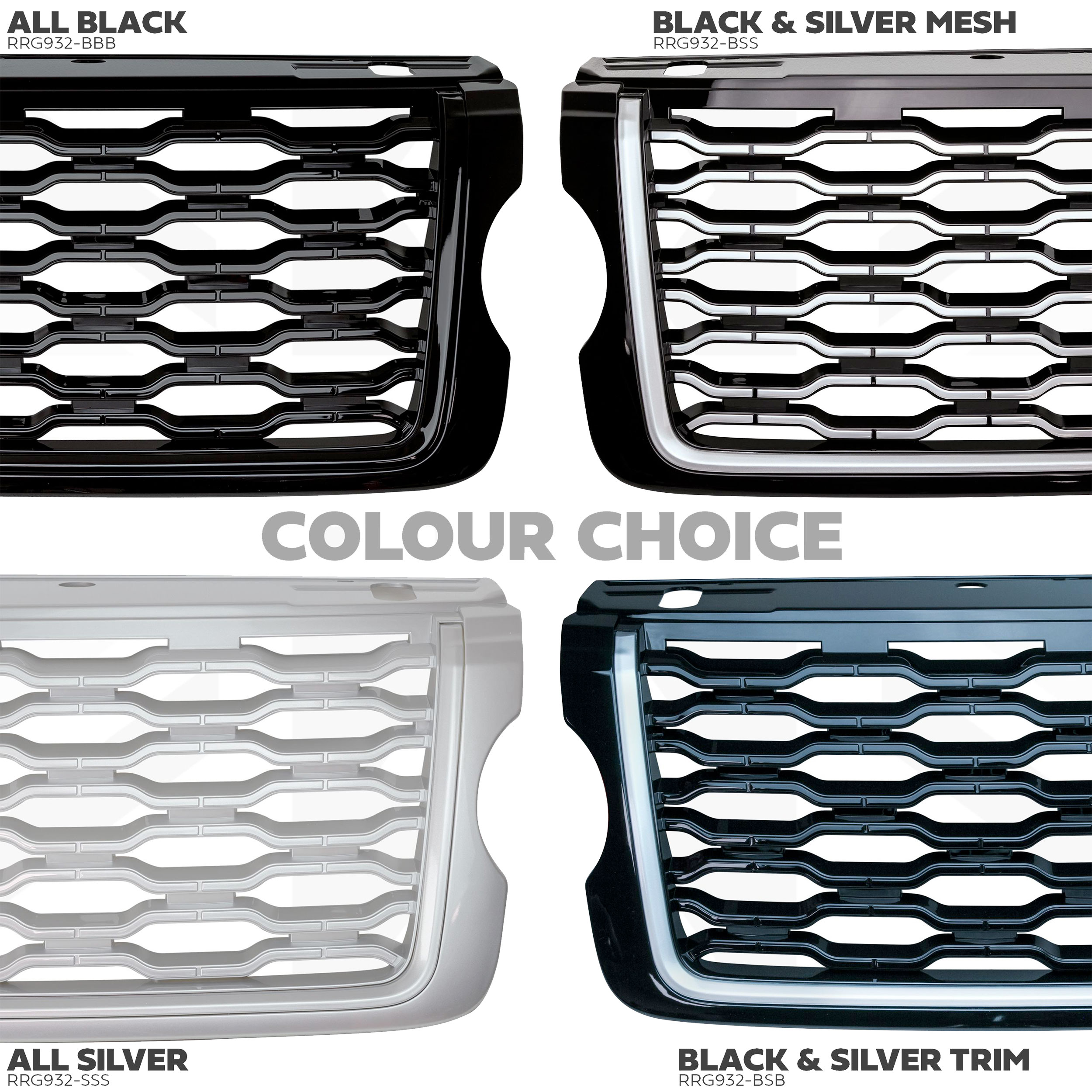 Now available: Range Rover L405 2018 Facelift Look Front Grille Kits